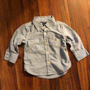 GAP Shirts & Tops - Baby Gap Chambray Button Down